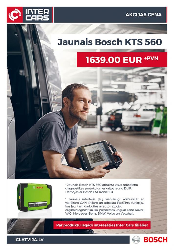 BOSCH KTS 560 akcijas cena!